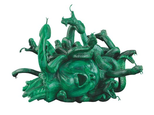 Damien Hirst, The Severed Head of Medusa, 2008. Photographed by Prudence Cuming Associates Ltd ©Damien Hirst and Science Ltd. All rights reserved.
