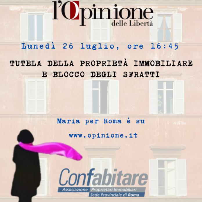 Confabitare Roma in tv
